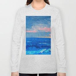 Golden Sand Seascape Long Sleeve T-shirt