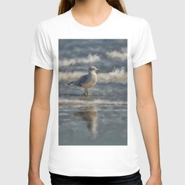 Seagull By The Seashore T-shirt