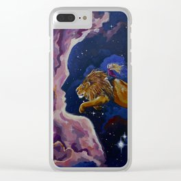 Lily the Lionhearted Clear iPhone Case