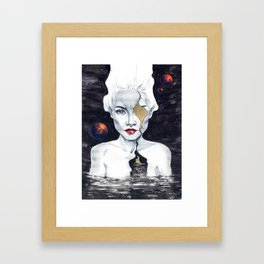 Aporia Framed Art Print