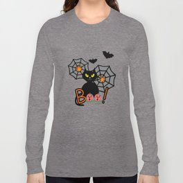 Happy Whimsical Halloween Long Sleeve T-shirt