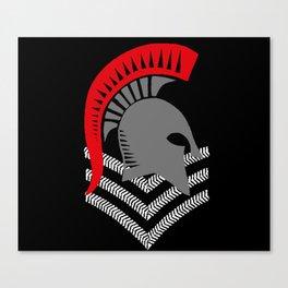 Sgt Spartan Canvas Print