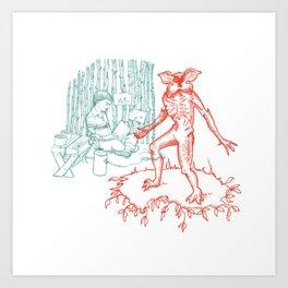 ST - Castle Byers Art Print