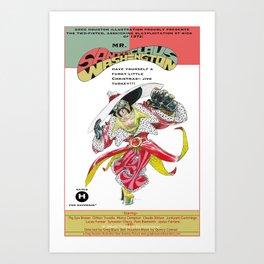 Junxploitation Poster (Mr Santa Claus Washington) Art Print