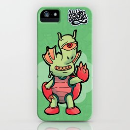 Monster Doodle iPhone Case