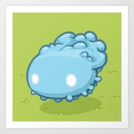 Marshmallow Blob Art Print