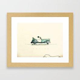 B E T I N A Framed Art Print