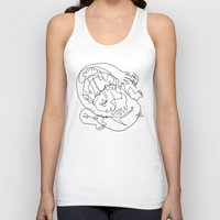 naked Tank Tops featuring Naked Truth by 5wingerone
