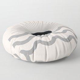 Sunrise art Floor Pillow