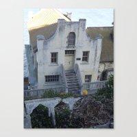 building Canvas Prints featuring Building by Crash Wrysinski