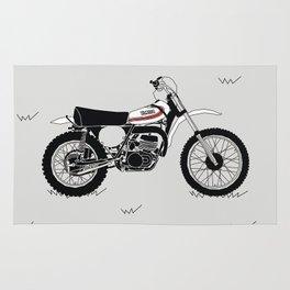 1973 Yamaha YZ250 Rug