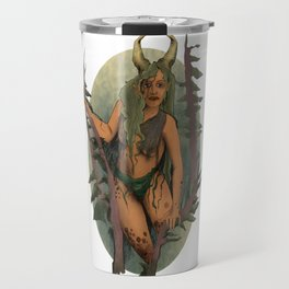 Ancient Forest Faerie Goddess Travel Mug