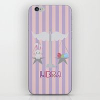 libra iPhone & iPod Skins featuring Libra by Esther Ilustra