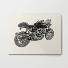 GT1000 Motorcycle Metal Print