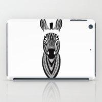 zebra iPad Cases featuring Zebra by Art & Be