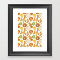 The Delicious Breads Framed Art Print