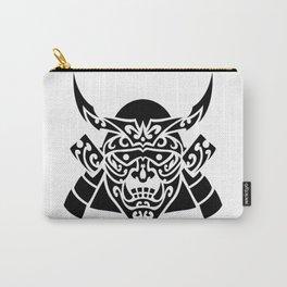 Samurai Mask Hannya Carry-All Pouch