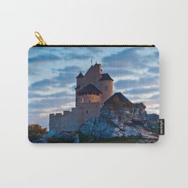 Medieval castle in Bobolice, Poland Carry-All Pouch