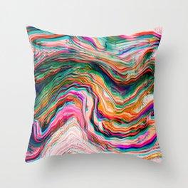 Colour of Deja Vu Throw Pillow