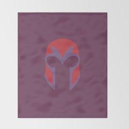 Magneto Helmet Throw Blanket