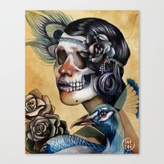 Queen of Indulgence  Canvas Print