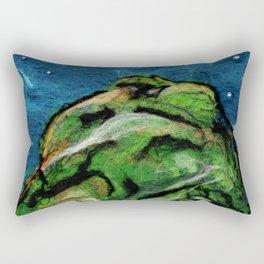 Mysterious Hill Rectangular Pillow