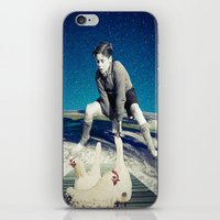 chicken iPhone & iPod Skins featuring Chicken by Cs025