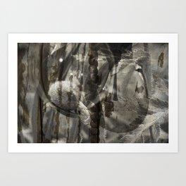 spooning Art Print