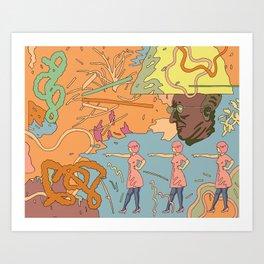 Easy Eater 2. Art Print