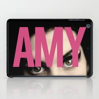 amy hamilton iPad Cases featuring AMY by ismaeledits
