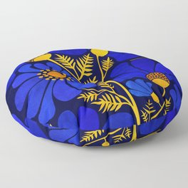 Wildflower Garden Floor Pillow