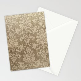Beige Royal Stationery Cards