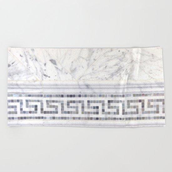 Greek Marble 2 Beach Towel