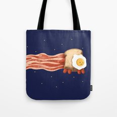 Nyan Bacon Tote Bag
