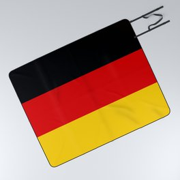 Flag of Germany - Authentic High Quality image Picnic Blanket