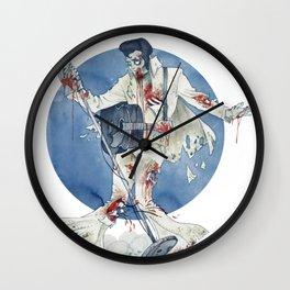 Zombie bop-a-lula Wall Clock