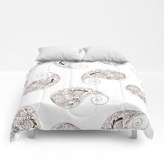Paisley - Henna Tone -  Boho - Comforters