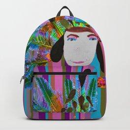 My Grandmother | Native American |Kids Painting |Pop Art Backpack