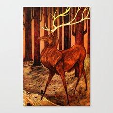 La Majesté du Cerf (The Proud Stag) Canvas Print