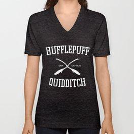 Hogwarts Quidditch Team: Hufflepuff Unisex V-Neck