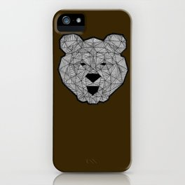 WILD BEAR iPhone Case