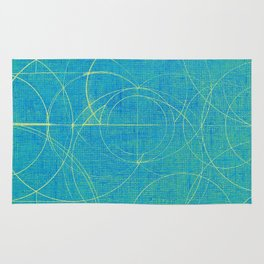 Aurea (Cyan Version) Rug