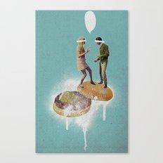 Danse Sale | Collage Canvas Print