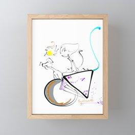 roam Framed Mini Art Print