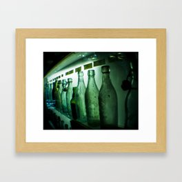 All Lined Up Framed Art Print