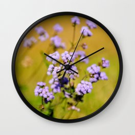 """Violette"" by ICA PAVON Wall Clock"