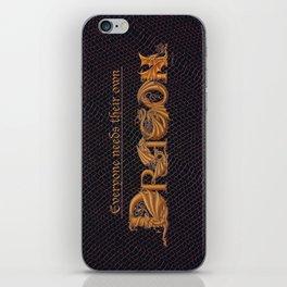 Everyone Needs Their Own Dragon iPhone Skin