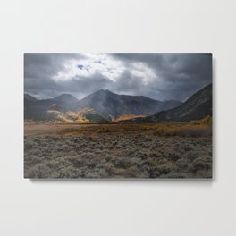 Fall Colors on La Plata Peak Metal Print
