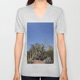 Growing Under The Desert Sun Unisex V-Neck