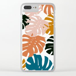 Tropical plant XIV Clear iPhone Case